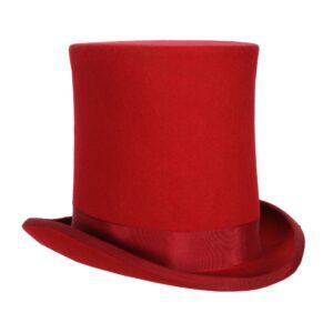 Zylinder-Hut hoch rot  KW:59