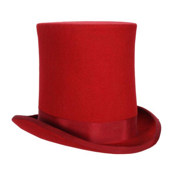 Zylinder-Hut rot hoch KW:57