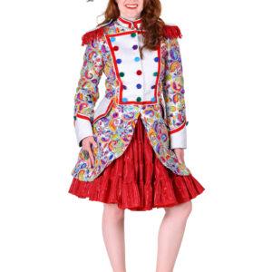 Damenjacke Paisley Color silber Gr. M