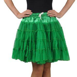 Petticoat 2lagig grün