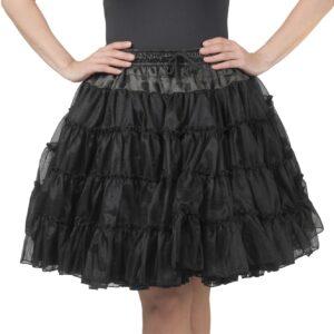 Petticoat 3lagig schwarz
