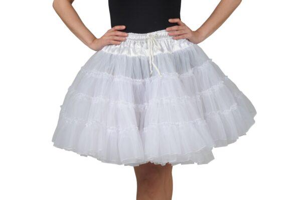 Petticoat 3lagig weiß