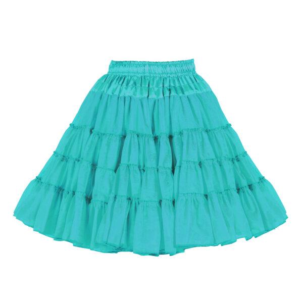 Petticoat 3lagig türkis