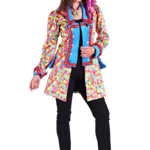 Damenjacke Velvet Carnevale Confetti Gr. XS