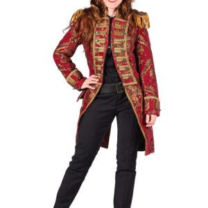 Damenjacke Nelson brokat gold-rot Gr. M