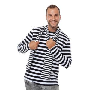 51e186943e583e Ringelshirt Herren schwarz-weiß Gr. M – Kölner Kostümkiste