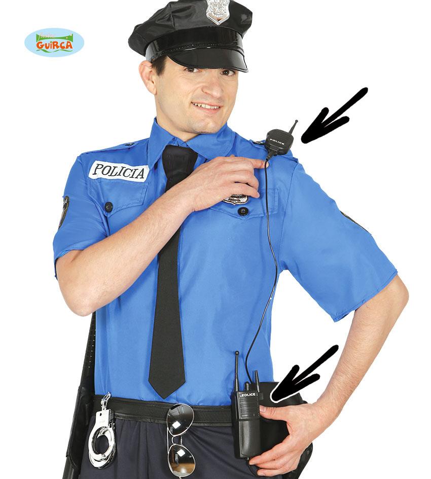funkgerät polizei swat  kölner kostümkiste