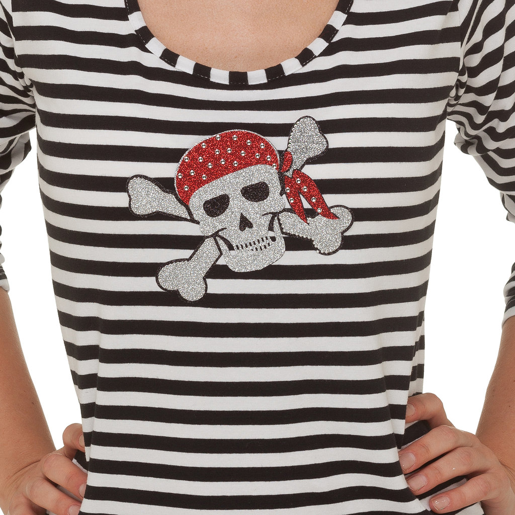 Bügelbild Pirat
